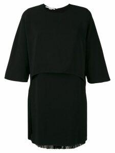Stella McCartney Georgia fringe dress - Black