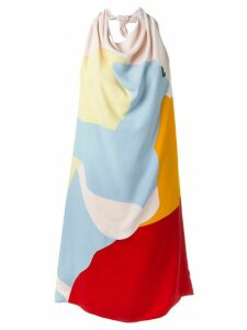Nina Ricci open back dress - Multicolour