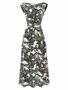 Aspesi printed sleeveless dress - Black