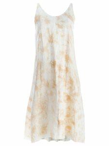 Individual Sentiments tie dye print tank dress - Neutrals