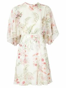 Giambattista Valli floral print dress - White