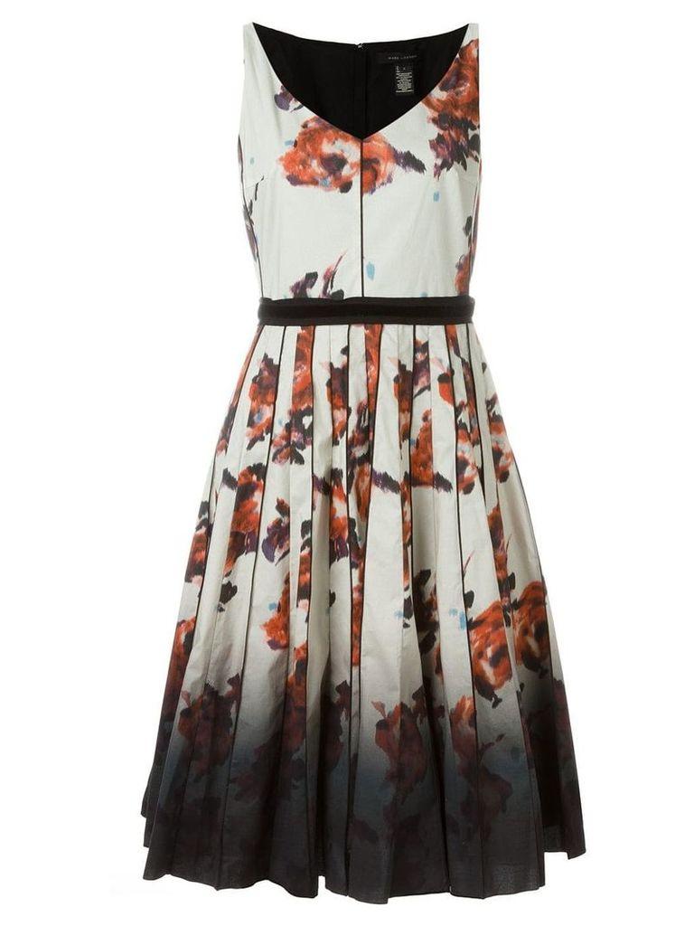 Marc Jacobs floral degradé print dress - Neutrals
