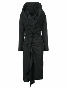 Yohji Yamamoto gathered dress - Black