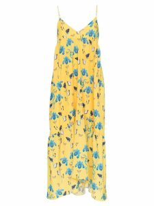 Borgo De Nor anais floral print dress - Yellow