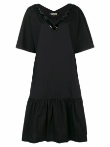 Bottega Veneta drop-waist shift dress - Black