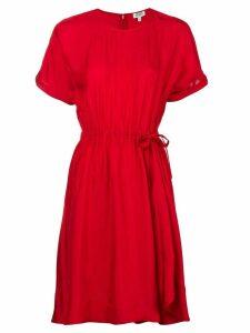 Kenzo tie-waist dress - Red