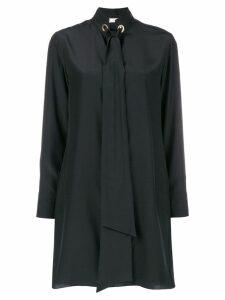 Chloé tie neck shift dress - Black