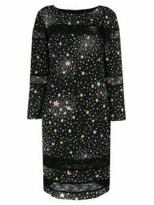 Boutique Moschino star print dress - Black