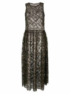 Uma Wang lace dress - Brown