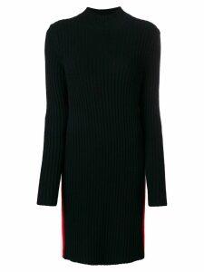 Calvin Klein 205W39nyc side stripe polo dress - Black
