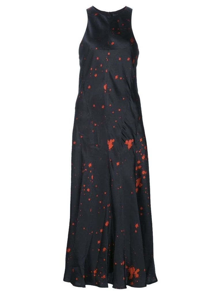Alexander Wang splatter print dress - Black