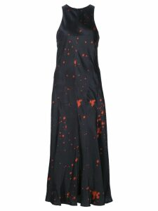 Alexander Wang splatter print dress - Black