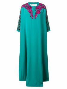 Emilio Pucci embellished kaftan dress - Green