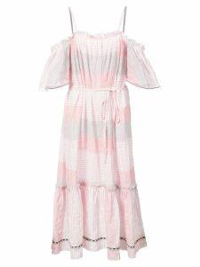 Lemlem Dera off shoulder dress - Pink