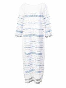 Lemlem Tiki side panel dress - White