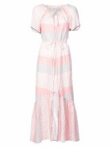 Lemlem Dera off shoulder long dress - Pink