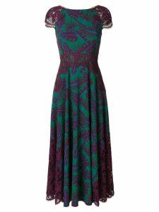 Talbot Runhof jungle print dress - Multicolour