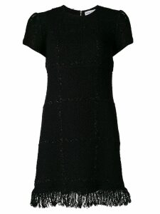 Sonia Rykiel fringed hem dress - Black