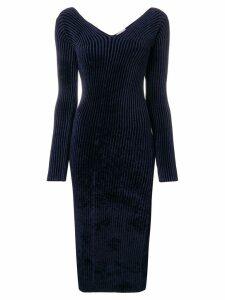 MRZ mid-length dress - Blue