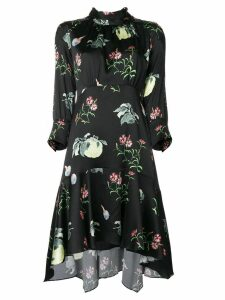 Peter Pilotto floral-print dress - Black