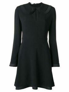 Stella McCartney pleated collar dress - Black
