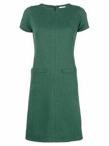Courrèges flared short dress - Green