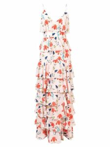 Borgo De Nor Filipa floral tiered dress - Pink