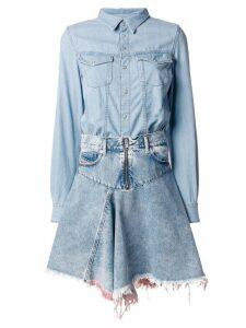Diesel DE-FRINGY dress - Blue