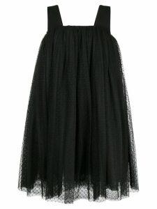 Comme Des Garçons Noir Kei Ninomiya polka dot tulle dress - Black