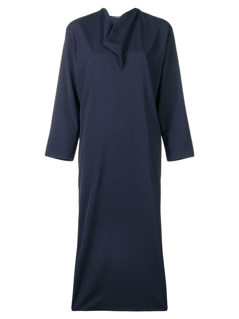 Sofie D'hoore cowl neck shift dress - Blue