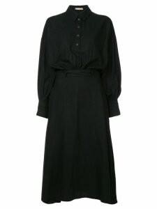 Nehera Domani shirt dress - Black