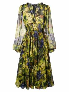 Dolce & Gabbana empire line dress - Yellow