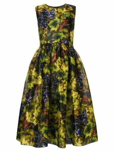 Dolce & Gabbana grapes print dress - Black