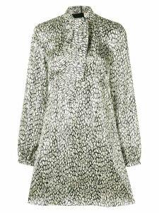 Saint Laurent leopard print dress - Neutrals