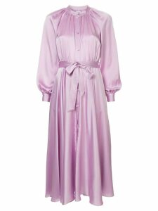 Co belted shirt dress - Pink