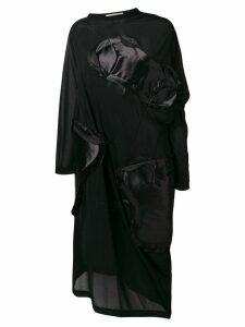 Comme Des Garçons deconstructed panel dress - Black
