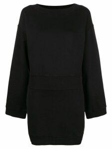 Faith Connexion mini sweatshirt dress - Black