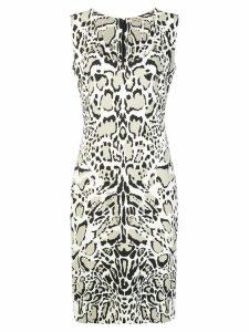 Roberto Cavalli leopard print dress - Neutrals