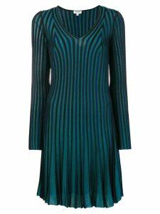 Kenzo long sleeve dress - Blue