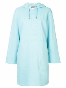 Moschino hooded dress - Blue