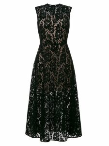 Christopher Kane patchwork lace dress - Black