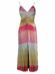 Marco De Vincenzo gradient effect pleated dress - Pink
