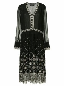 Magali Pascal bohemian dress - Black