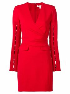 Jonathan Simkhai fitted wrap dress - Red