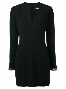 Dsquared2 V-neck dress - Black