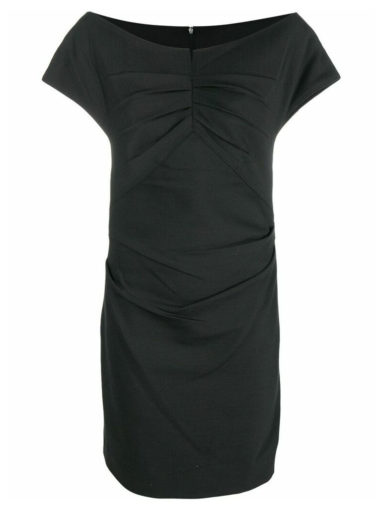 Helmut Lang fitted short dress - Black