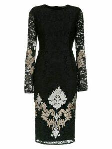 Olympiah lace Lua midi dress - Black