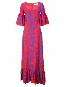 Borgo De Nor floral maxi dress - Red