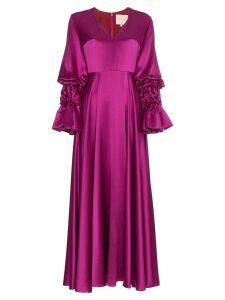 Roksanda Silk Lavonne Maxi Dress - Pink