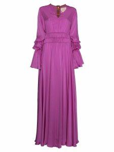 Roksanda Magenta silk Ansari dress - Pink